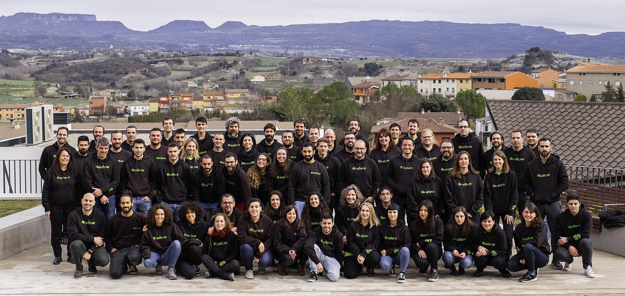 L'equip de Goufone